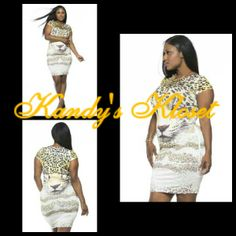 Tiger Bodycon Dress · Kandy's Kloset · Online Store Powered by Storenvy