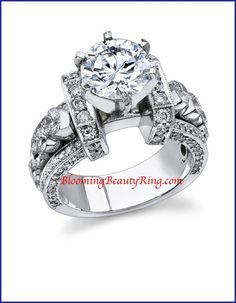 http://www.BloomingBeautyRing.com  #UniqueEngagementRing