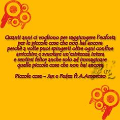 Piccole cose - JAxEFedez ft Alessandra Amoroso