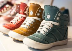 Stylish Kids Trainers. Emel leather kids shoes