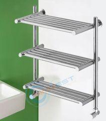 Elegant Stainless Steel Hotel Towel Racks