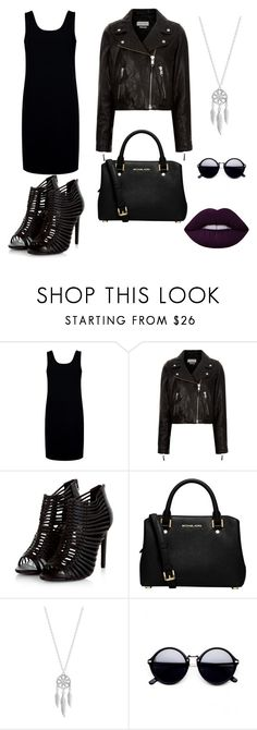"""""""My First Polyvore Outfit"""" by nadya-semenko ❤ liked on Polyvore featuring Être Cécile, Étoile Isabel Marant, MICHAEL Michael Kors, Lucky Brand and Lime Crime"""