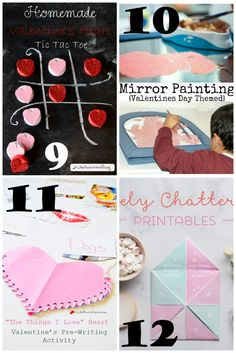 I have seen some great Valentine's Day posts popping up lately and thought I would share some of our favorites. These are sure to be hours of good holiday fun for kids of all ages! I love all…