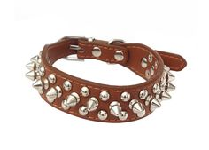OCSOSO® Punk Style Spiked PU Leather Pet Dog Fashion Collar Belt - 10 Rivets Studded In Leather Dog Collar 2.5cm Wide >>> You can find out more details at the link of the image. (This is an affiliate link and I receive a commission for the sales)