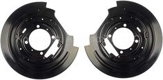 Ford F150 Rear Disc Brake Dust Shield Pair Dorman 924-215 Expedition 97 98 99 00 #DormanOESolutions
