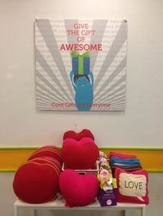 Yogibo Valentine's Day HEART and LOVE pillows make the perfect gift! The Kids will also love the Yogibo MATES - huggable buddies who have the same awesomeness as the other Yogibos.