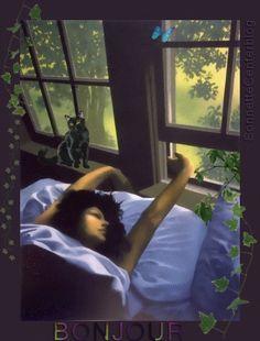 Good Night Gif, Good Morning Gif, Lovely Girl Image, Girls Image, Gif Animé, Animated Gif, Futurism Art, Fantasy Forest, Fantasy Art