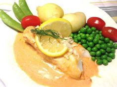 Swedish Recipes, Fish And Chips, Fish Dishes, Fish And Seafood, Lchf, Food And Drink, Dessert, Dinner, Vegetables