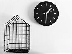 scandinavian style clock zegar w stylu skandynawskim drewno