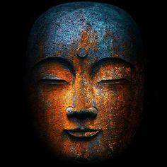 """One of the beautiful things about Buddhism is that it does not worship Buddha as a god or deity, but instead celebrates the Buddha as an example of a. Art Buddha, Buddha Kunst, Buddha Buddhism, Religion, Photos, Painting, Gentleness, Clever, Dark"