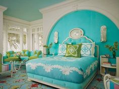 Light Turquoise Bedroom