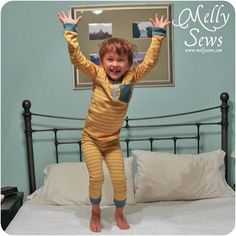 Melly Sews: KCWC Fall 2012 Day 5 - Hipster Henley Pajama Style