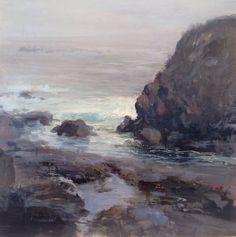 Winter fog-original painting $675