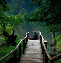 A peaceful place a lake or pond beautiful