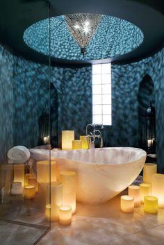 Moroccan styled bath