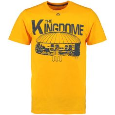 Men's Seattle Mariners Majestic Yellow Primetime Comeback Cooperstown T-Shirt