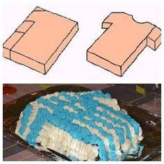 Gâteau Maillot de football