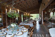 Sweet Meadow, West Georgia Wedding venue Barn reception Photo: Tessa Rice