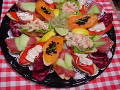 OPEN FACE STYLE SANDWICHES