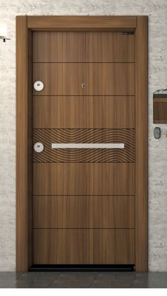 Top 50 Modern Wooden Door Design Ideas You Want To Choose Them For Your Home - E., Top 50 Modern Wooden Door Design Ideas You Want To Choose Them For Your Home - Engineering Discoveries. Flush Door Design, Main Door Design, Wooden Door Design, Front Door Design, Gate Design, Bedroom Door Design, Door Design Interior, Interior Doors, Pooja Door Design