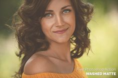 Free Photoshop Action: Washed Matte