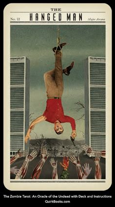 The Hanged Man: from the Zombie Tarot