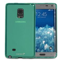 Amazon.com: Galaxy Note Edge Case - Fosmon [DURA FROST] Smooth Durable & Flexible SLIM-Fit Cover for Samsung Galaxy Note Edge (Teal): Cell Phones & Accessories