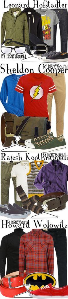 Big Bang Theory Fashion    #geek #nerd #fashion