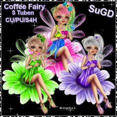Dagny`s Scrap und Grafik Design: CU/PU Coffee Fairy