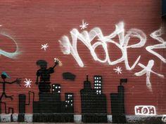 (Street) Art in New York – Jestem w lesie Street Art