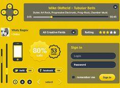 Lumata User Interface by Vitaly Bagov, via Behance