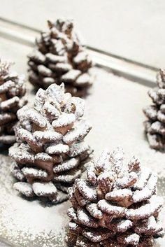 Chocolate Cereal Pinecones   23 Fun And Festive Thanksgiving Desserts That Kids Will Love
