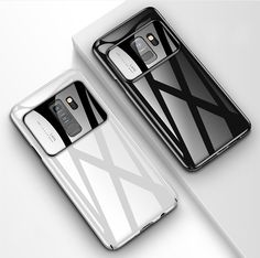 Bakeey Tempered Glass Mirror Hard PC Protective Case for Samsung Galaxy S9/S9 Plus Samsung Accessories, Camera Lens, Samsung Galaxy S9, Protective Cases, Watch Bands, Galaxies, Mirrors, Smartphone, Gadgets