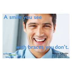 Give yourself the gift of a beautiful smile today with #OrthoSnap. These #invisiblealigners are easy to use and affordable. #teethstraightening #withoutbracess