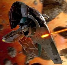 starwarsisair:  slave 1  From one science fiction lover to another.