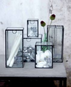 Showcase ideas! #glass_box