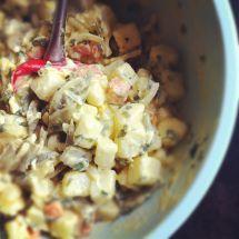Ma recette du jour : Salade piémontaise sur Good-recettes.com