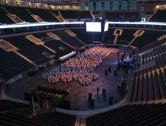 Ralph Engelstad Arena in Grand Forks, North Dakota.