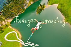 This would be so scary and nerve racking but I want to bungee jump at least one time.