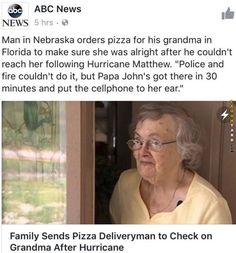 Pizza to the rescue