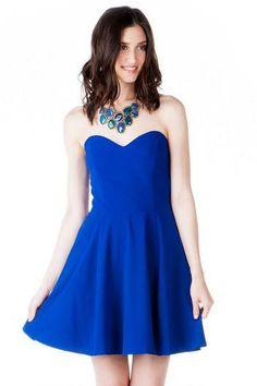 Marinette Strapless Dress