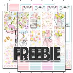 FREE Printable Planner Stickers, Happy Planner, Erin Condren, Mini Happy Planner | Join Our VIP Facebook Group to get this and other freebies!