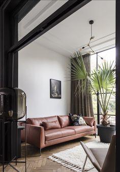 Dit gezellige interieur met warme tinten van #designonstock shopt u ...