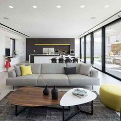 Möbel in Grau, Weiß und Schwarz für eine minimalistische Einrichtung