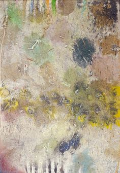 Stanley Boxer (1926–2000) Screamtowhere, 1995 Oil and mixed media on canvas, 70 x 49-1/2 inches