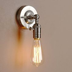 pathson 15cm industrial vintage clear glass globe retro sconce wall