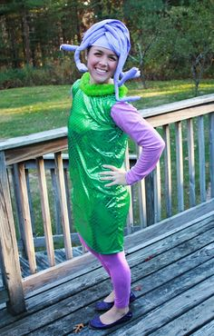 High Heels To Sneakers: Monsters Inc Costumes How To