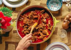 Puerto Rico has a rich culinary history influenced by France, Spain, Africa and Taíno Native American. If you're ready to cook and eat like a local, renowned San Juan chef Jose Santaella's new book, C Rice Recipes, Indian Food Recipes, Beef Recipes, Cooking Recipes, Ethnic Recipes, Recipies, Elk Stew Recipe, Beef Stew With Beer, Curry Goat