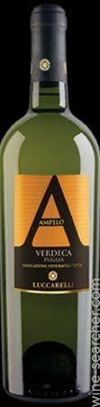 Verdeca di Puglia, Southern Italian sparkling wine. Terre di Sava Lucarelli Ampelo Verdeca Puglia IGT, Italy