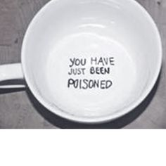 Lol this is funny, give someone this cup when they visit your home lol poisoned coffee mug - bad link, but easy enough for one of those Sharpie crafts Coffee Love, Coffee Shop, Coffee Cups, Tea Cups, Coffee Break, Sharpie Crafts, Sharpie Art, Sharpies, Diy Mugs
